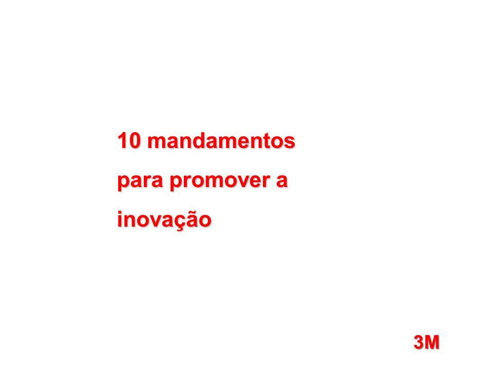10 mandamentos para promover a inovação 3M