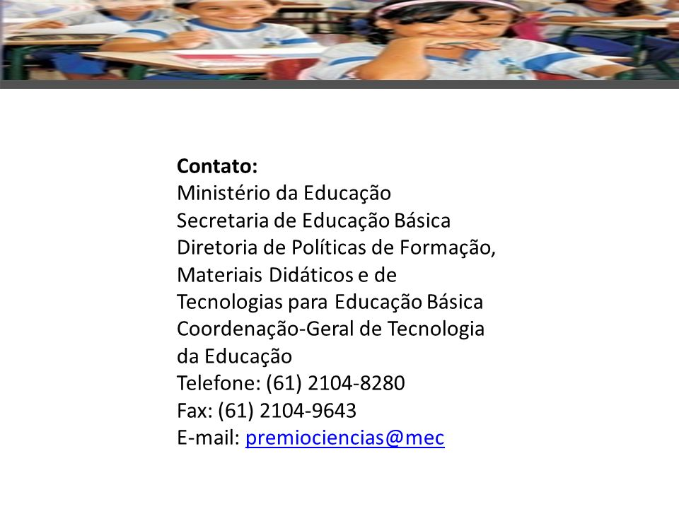 Prêmio Professores do Brasil/MEC
