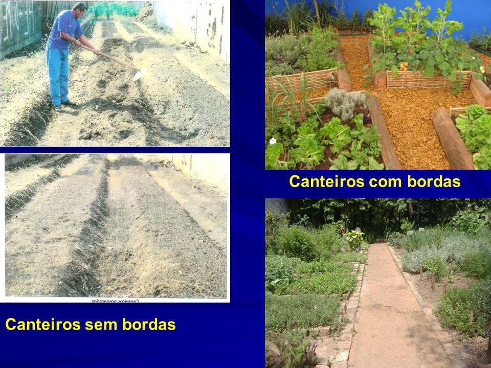Terrenos inclinados : construção dos canteiros em nível