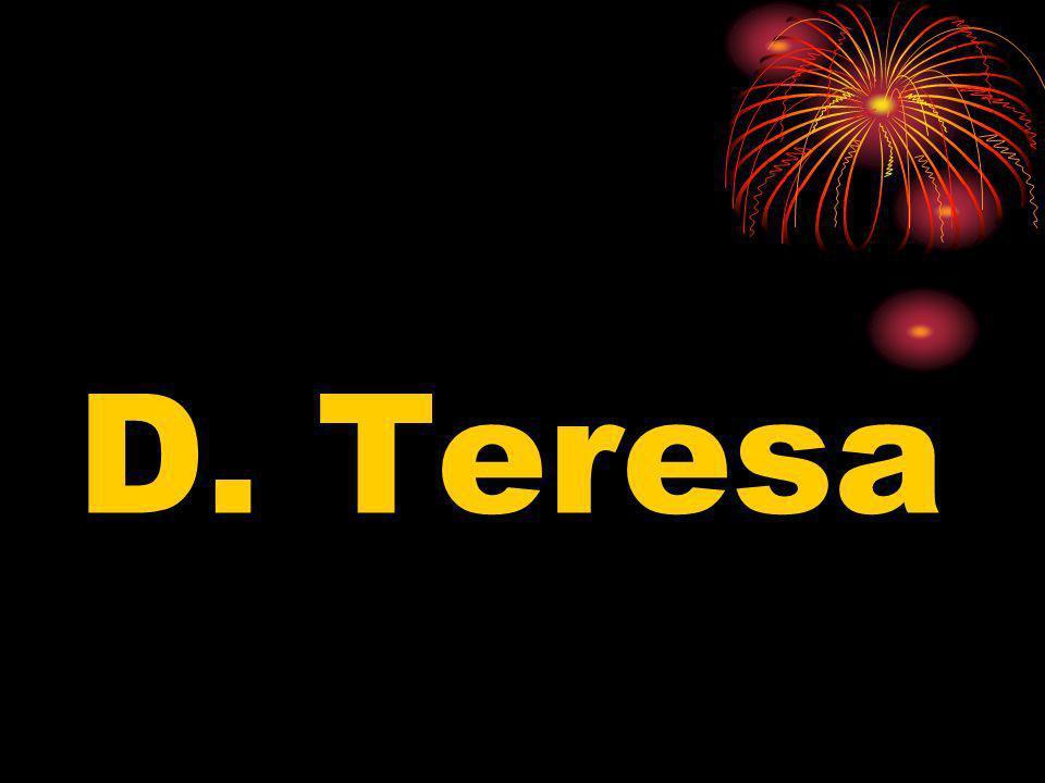 D. Henrique casou com… A.D. Teresa B.D. Júlia Ribeiro C.D. Urraca