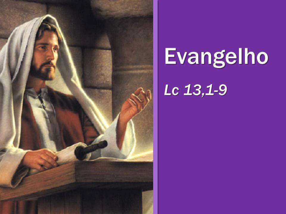 Evangelho Lc 13,1-9
