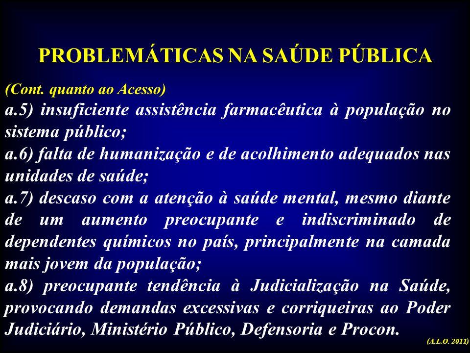 Uma preocupação gritante na saúde Desumanização (A.L.O. 2011)