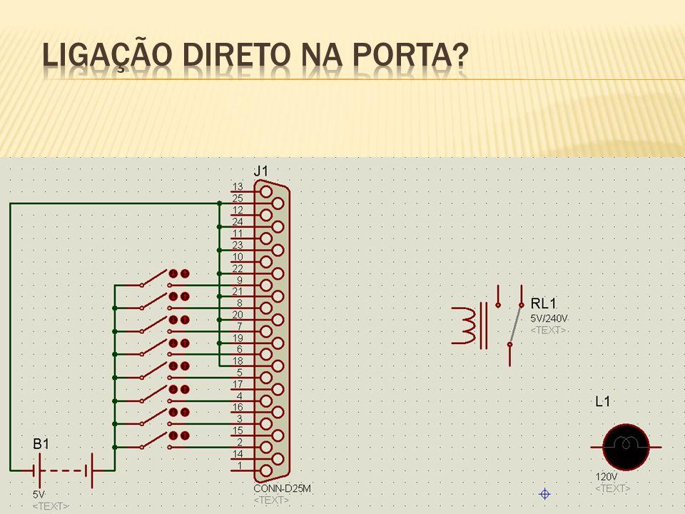 Tensão até 12Vdc e correntes até 500mA