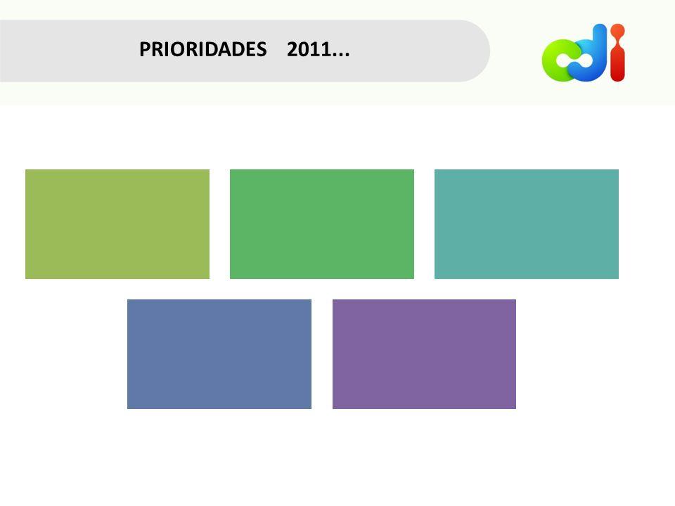 PRIORIDADES 2011...