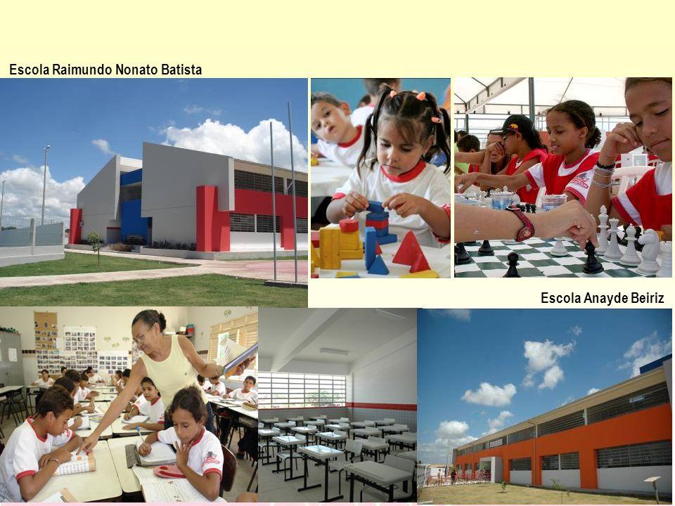 Escola Raimundo Nonato Batista Escola Anayde Beiriz