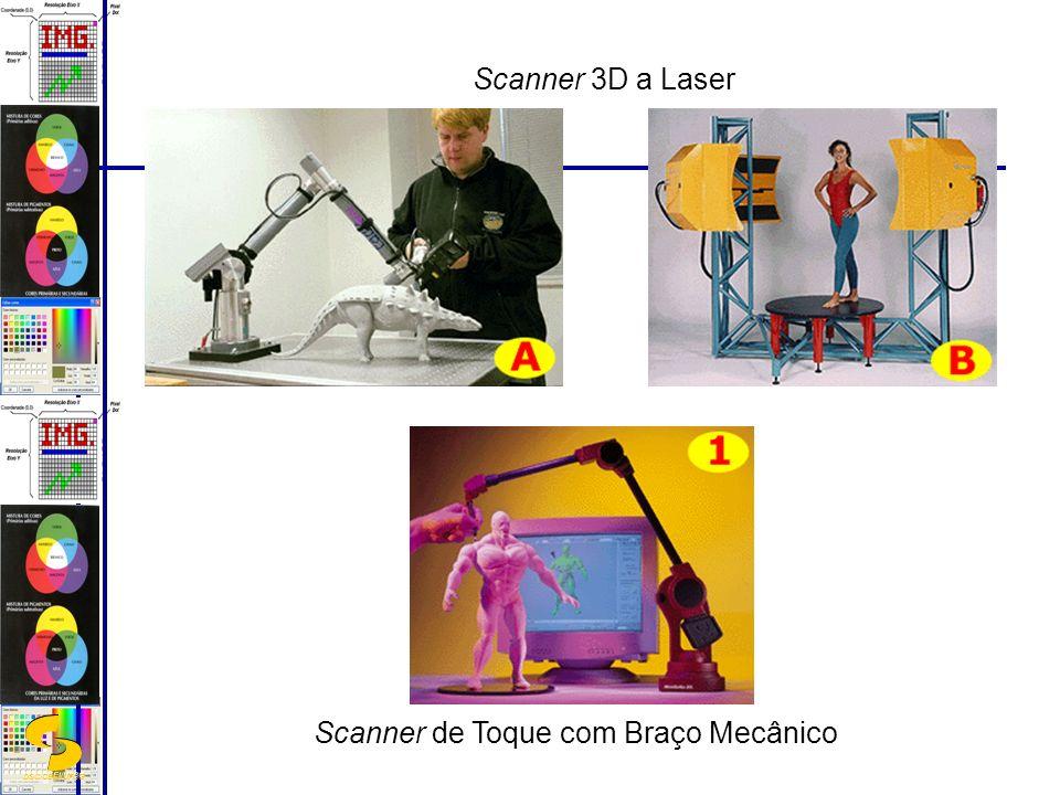 DSC/CEEI/UFCG Scanner de Toque com Braço Mecânico Scanner 3D a Laser