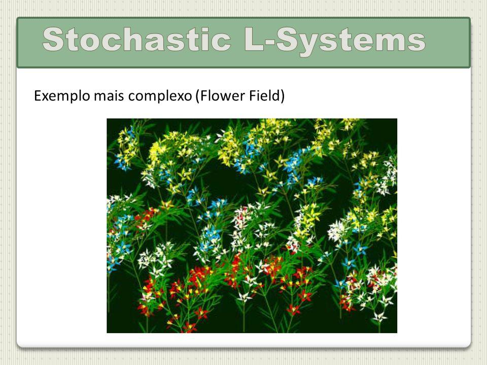 Exemplo mais complexo (Flower Field)