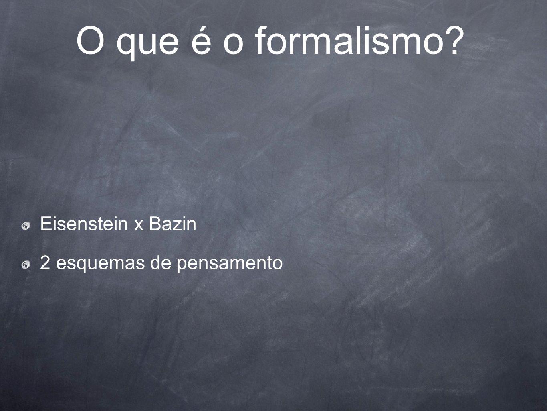 2 esquemas de pensamento O que é o formalismo?