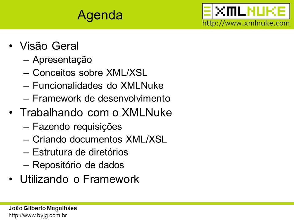 João Gilberto Magalhães http://www.byjg.com.br Criando XML com formulários O Snippet HTMLBODY que mapeia as marcas XML em HTML trata de uma forma mais simplificada e específica os formulários.