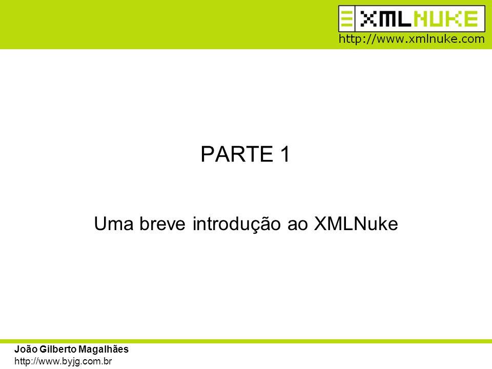 João Gilberto Magalhães http://www.byjg.com.br Apresentação O que é o XMLNuke.