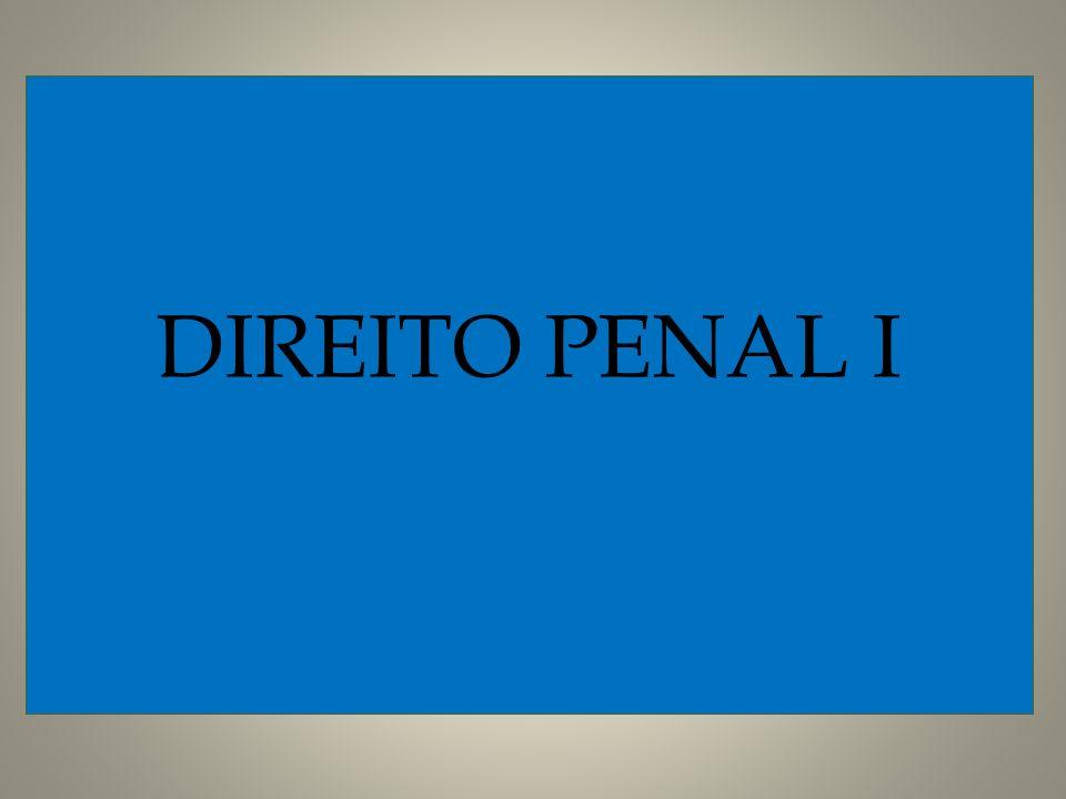 DIREITO PENAL I