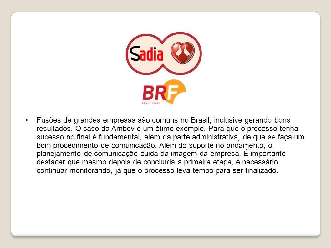 Fusões de grandes empresas são comuns no Brasil, inclusive gerando bons resultados. O caso da Ambev é um ótimo exemplo. Para que o processo tenha suce