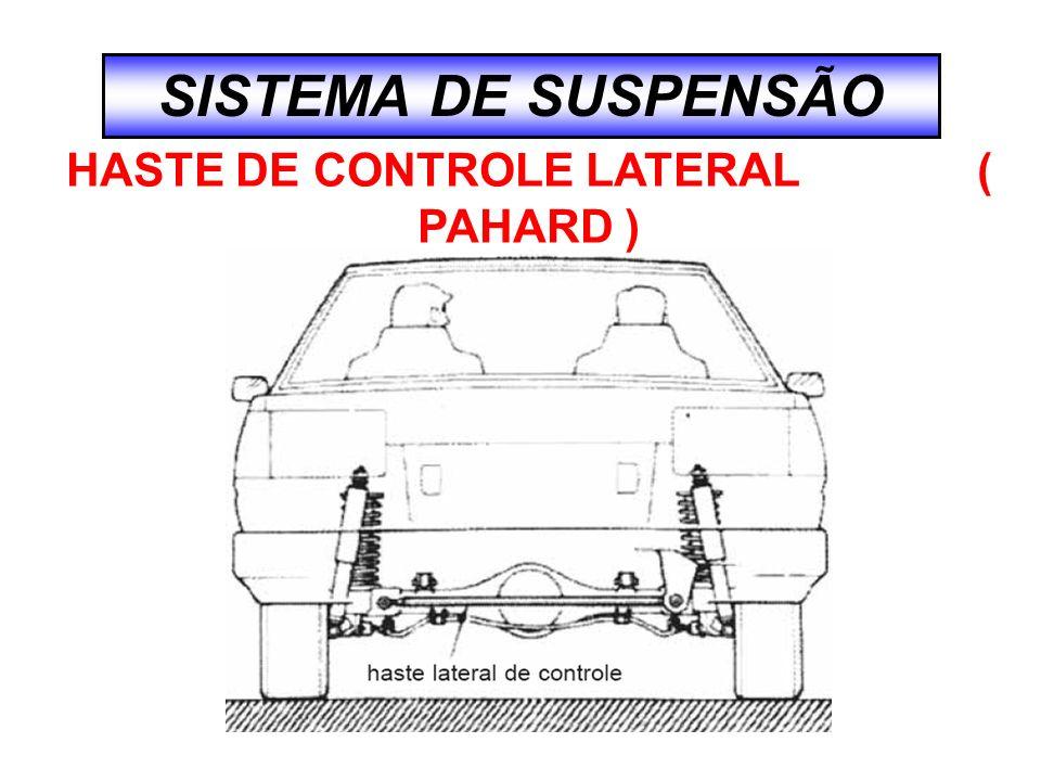 SISTEMA DE SUSPENSÃO HASTE DE CONTROLE LATERAL ( PAHARD )