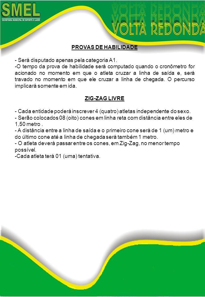 CABO DE GUERRA - Será disputada pela categoria A1 (Masculino e Feminino) -Cada escola só poderá inscrever até 7 (sete) atletas no máximo por equipe.