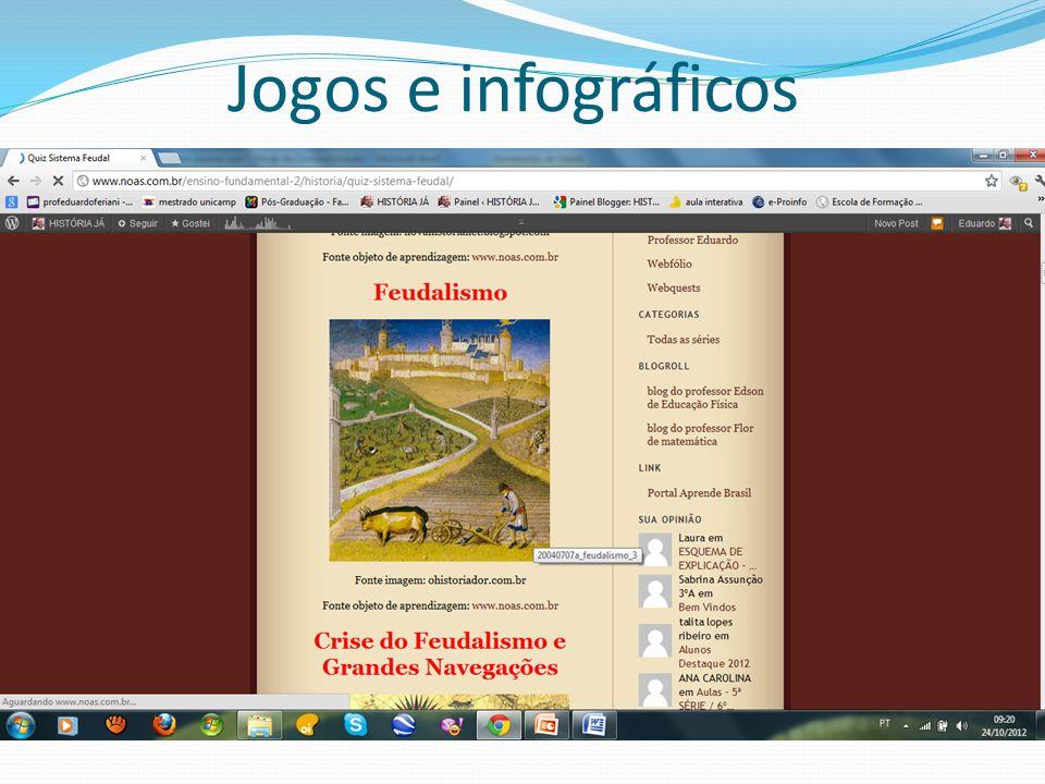 Jogos e infográficos