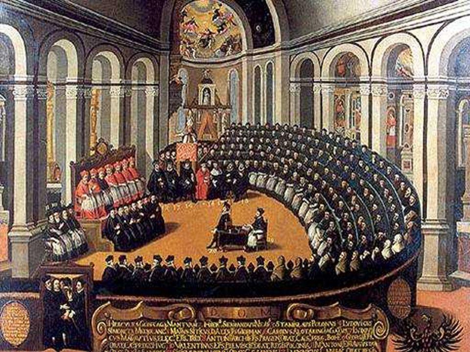 - A criação do Tribunal do Santo Ofício - Manter os dogmas da Igreja, os sete sacramentos e a hierarquia do clero.