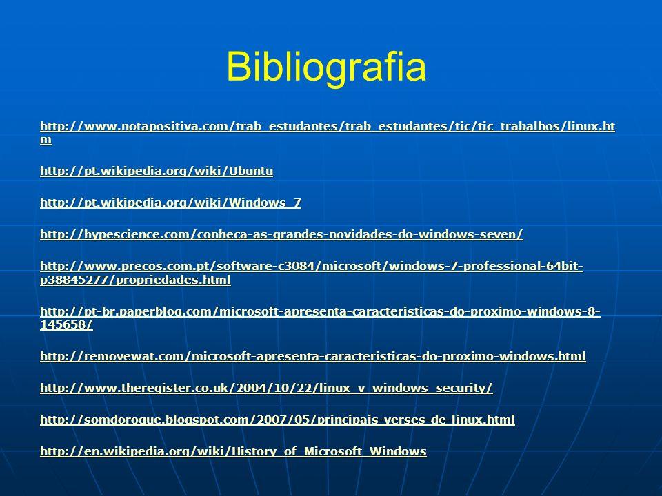 Bibliografia http://www.notapositiva.com/trab_estudantes/trab_estudantes/tic/tic_trabalhos/linux.ht m http://www.notapositiva.com/trab_estudantes/trab