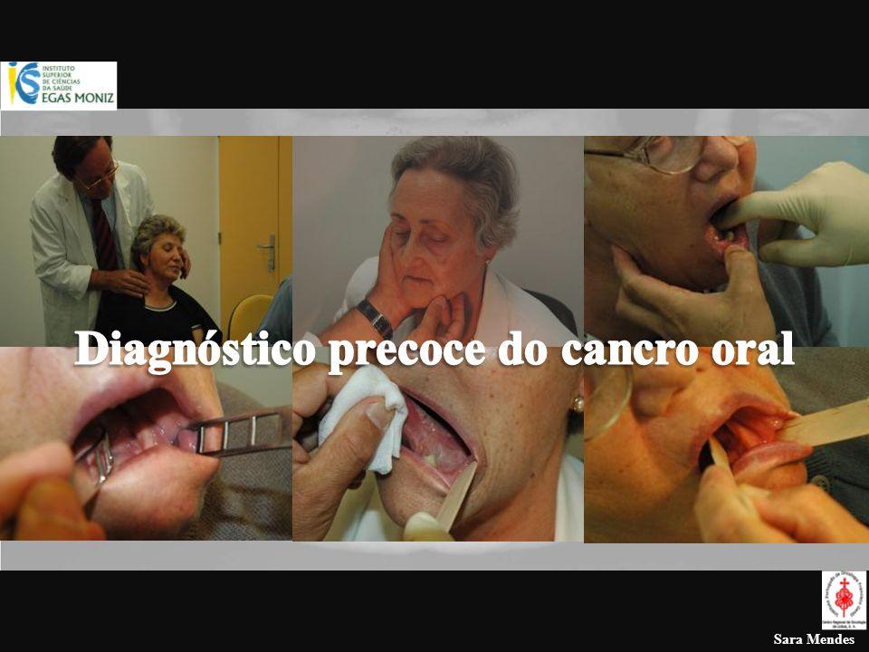 Diagnóstico precoce do cancro oral Melhorar a acessibilidade aos cuidados de saúde oral Identificação e tratamento das lesões de pré-cancerose Campanhas de prevenção ( dos factores etiológicos conhecidos – tabaco e álcool) Campanhas de rastreio