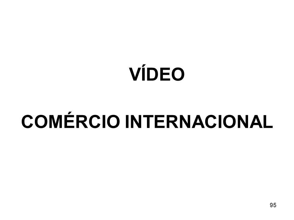95 VÍDEO COMÉRCIO INTERNACIONAL