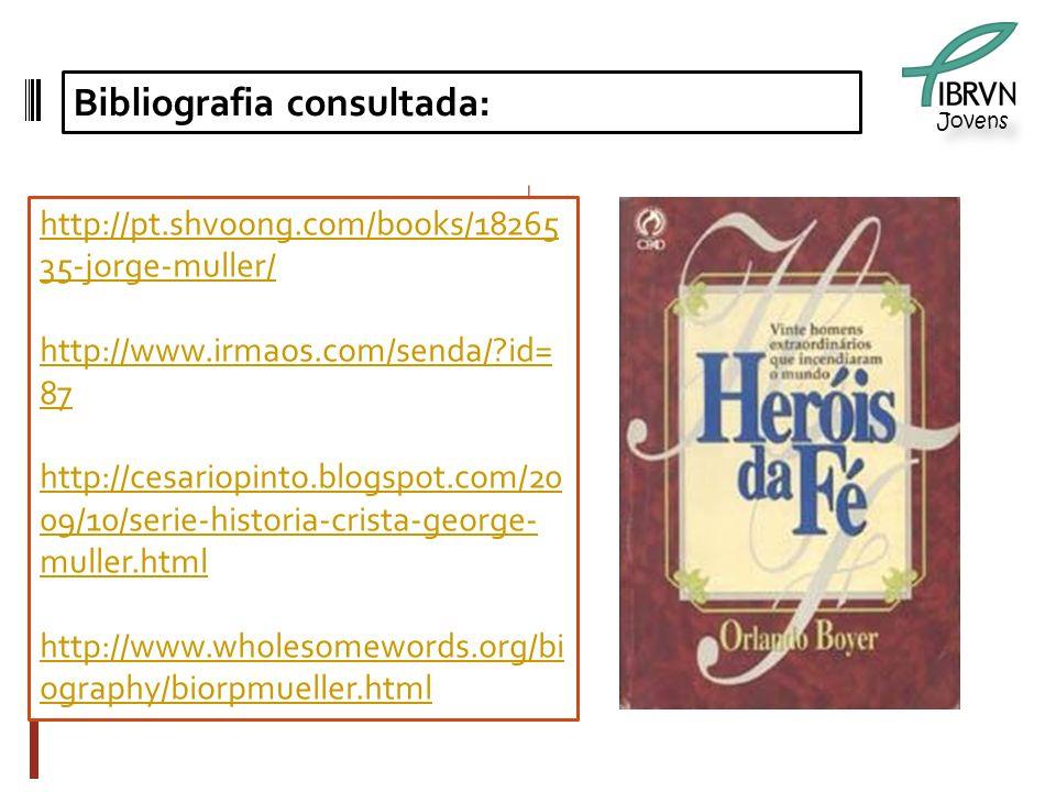 Jovens Bibliografia consultada: http://pt.shvoong.com/books/18265 35-jorge-muller/ http://www.irmaos.com/senda/?id= 87 http://cesariopinto.blogspot.co