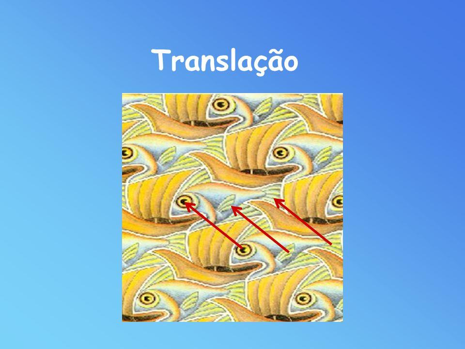 Translação associada ao vector AB, T AB é a aplicação que a cada ponto P da figura inicial faz corresponder um ponto Q, tal que: PQ = AB Translação. P
