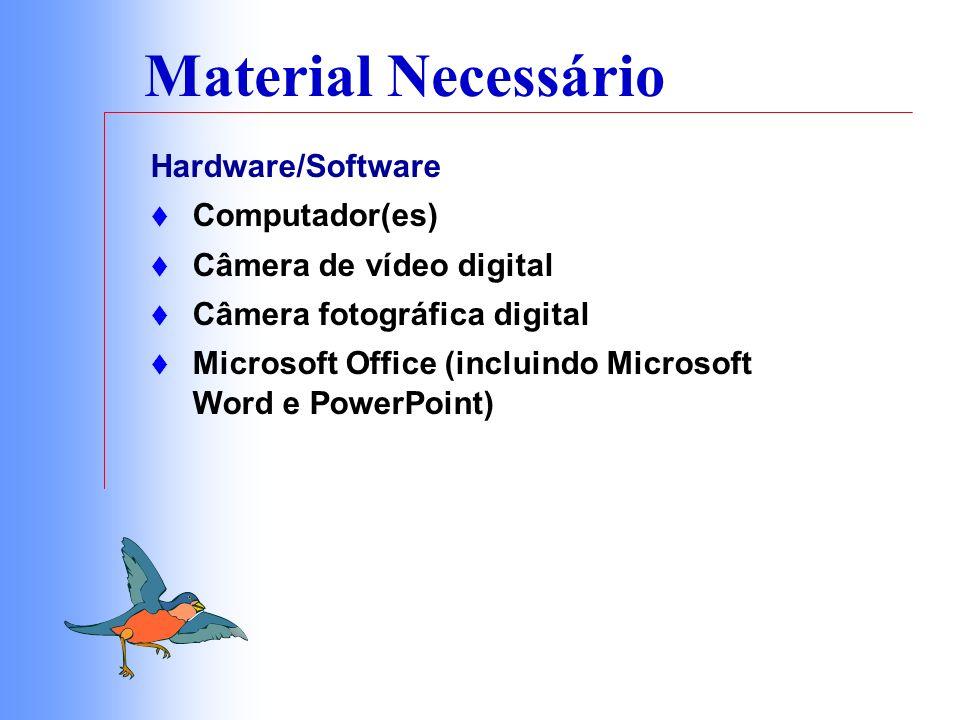 Procedimentos 1.Determinar qual informação será compartilhada no site da Web 2.