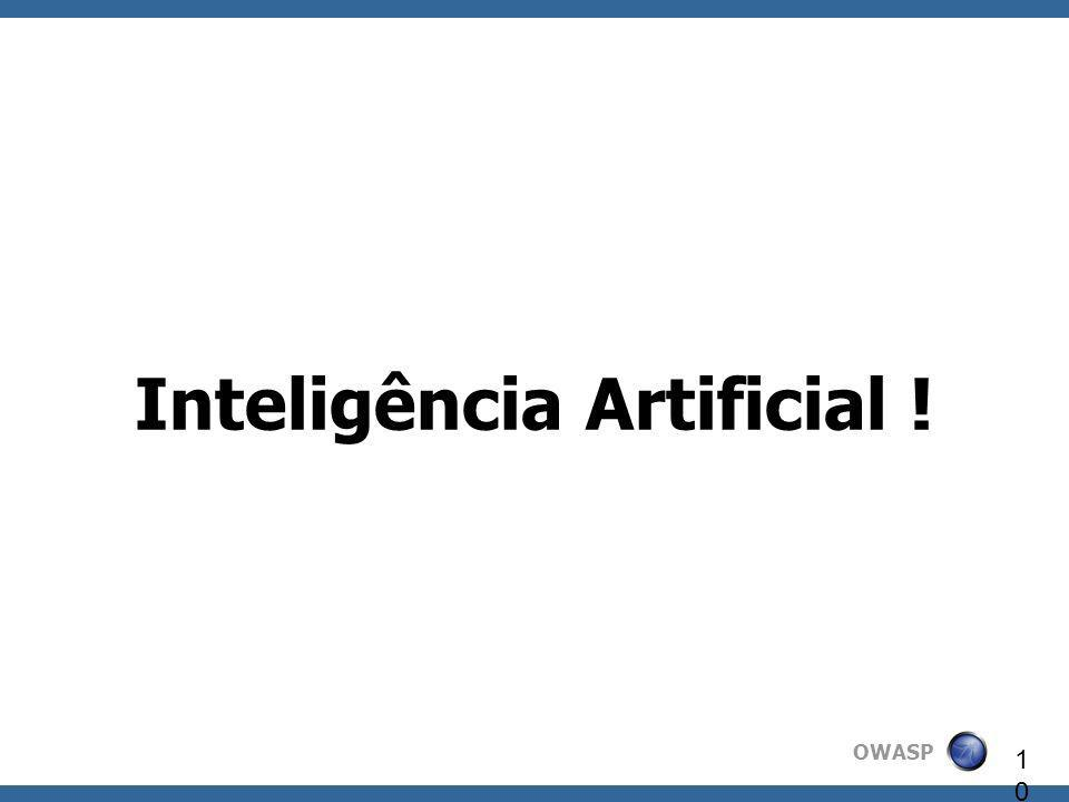 OWASP 10 Inteligência Artificial !