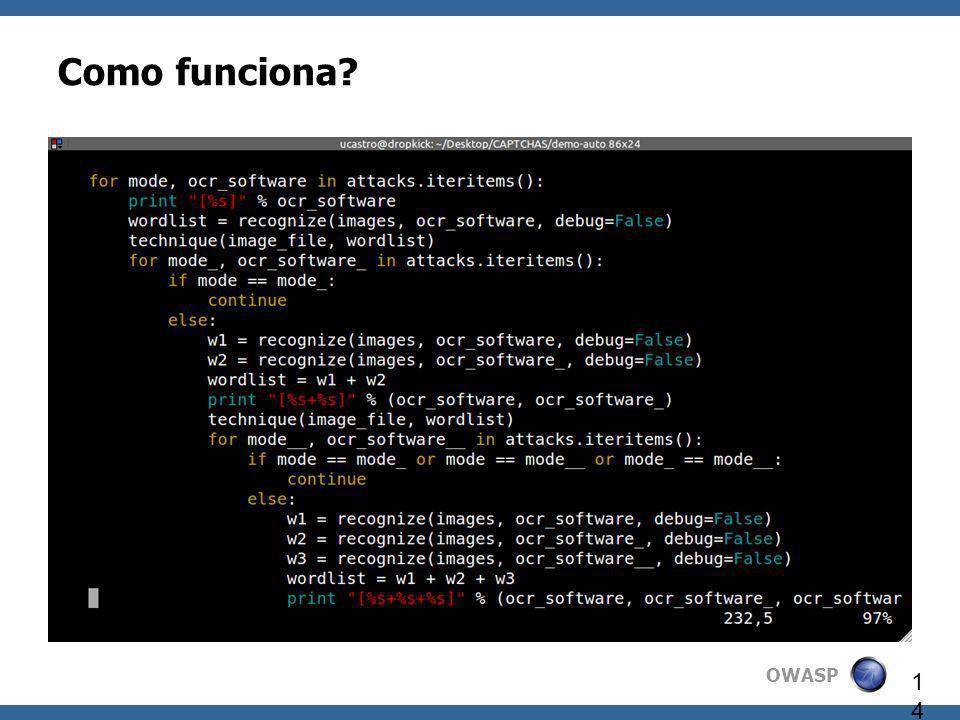 OWASP 14 Como funciona?