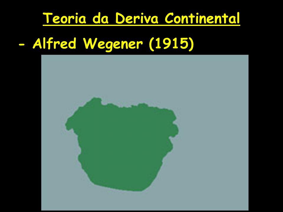 Teoria da Deriva Continental - Alfred Wegener (1915)