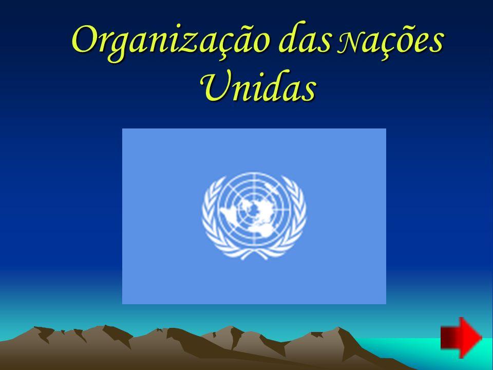 «Antecedentes e História» A ideia das Nações Unidas foi elaborada na declaração, firmada durante a Segunda Guerra Mundial, na conferência de aliados celebrada em Moscovo em 1943.