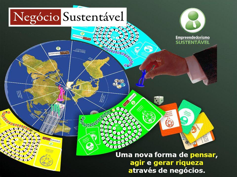 Uma nova forma de pensar, agir e gerar riqueza através de negócios.