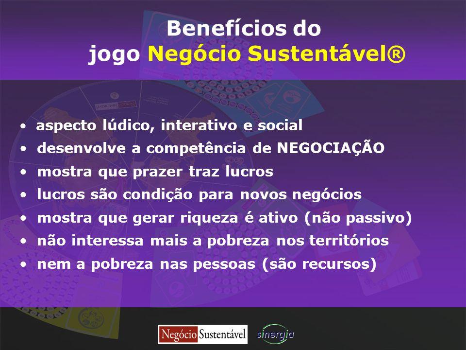 aspecto lúdico, interativo e social desenvolve a competência de NEGOCIAÇÃO mostra que prazer traz lucros lucros são condição para novos negócios mostr