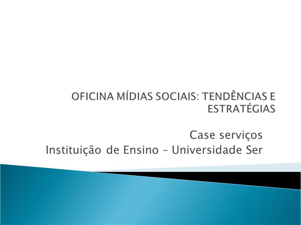 Case serviços Instituição de Ensino – Universidade Ser