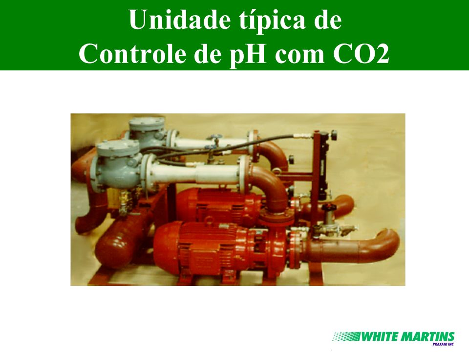 Neutralização em Linha - Opcional l É possível usar este tipo de instalação simplificada quando a taxa de re-circulação é 1 (normalmente o pH inicial <10.5).