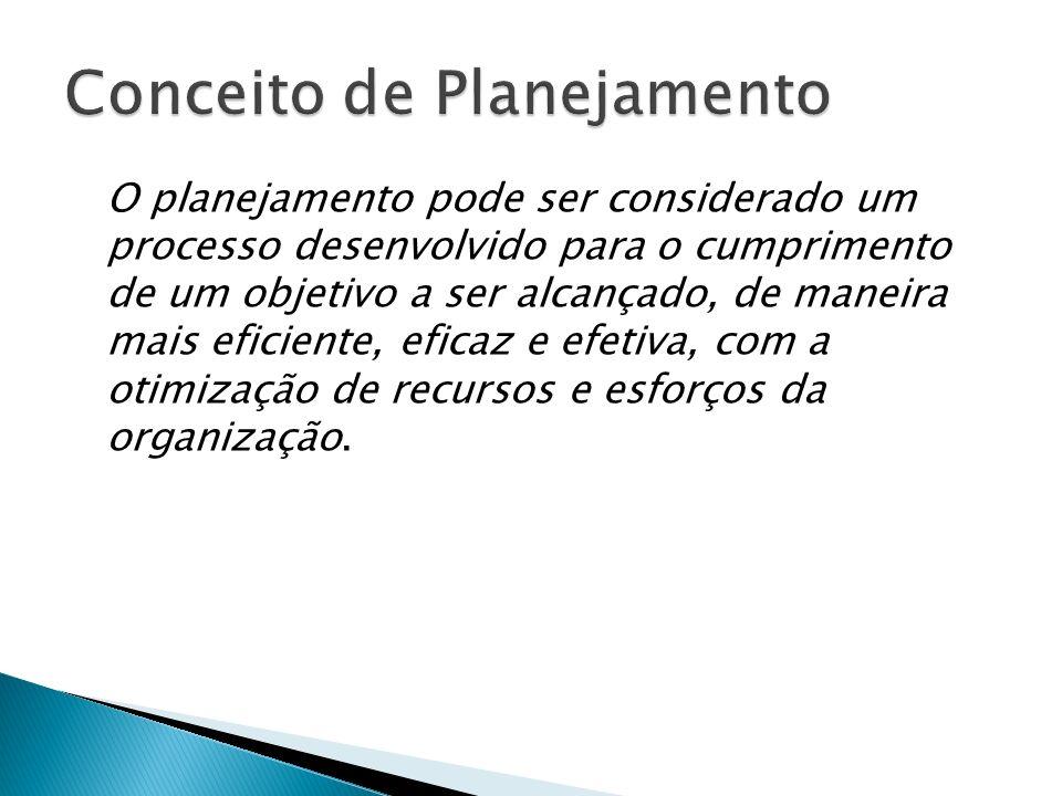 Segundo Rebouças (1990;33), o planejamento não pode ser confundido com previsão, projeção, predição, resolução de problemas ou plano.