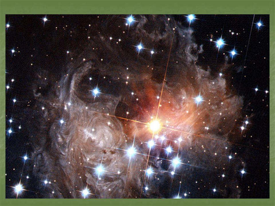 Nascimento de uma estrela As estrelas nascem, vivem e morrem.