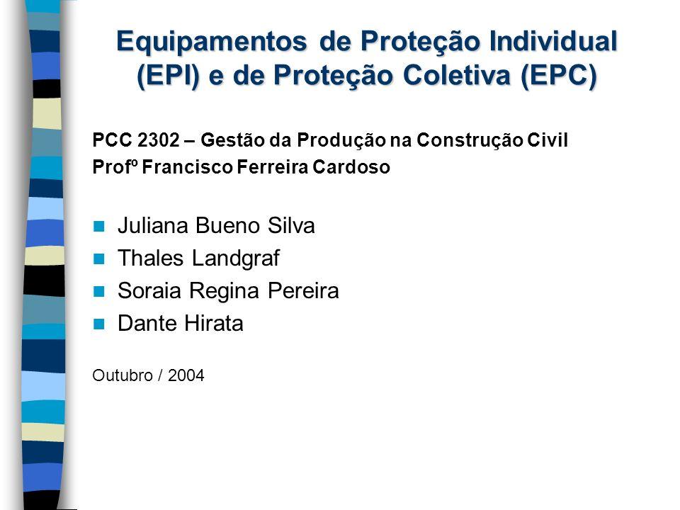 PCC 2302 – Gestão da Produção na Construção Civil Profº Francisco Ferreira Cardoso Juliana Bueno Silva Thales Landgraf Soraia Regina Pereira Dante Hir