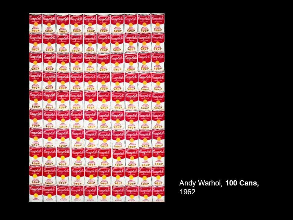 Andy Warhol, 100 Cans, 1962