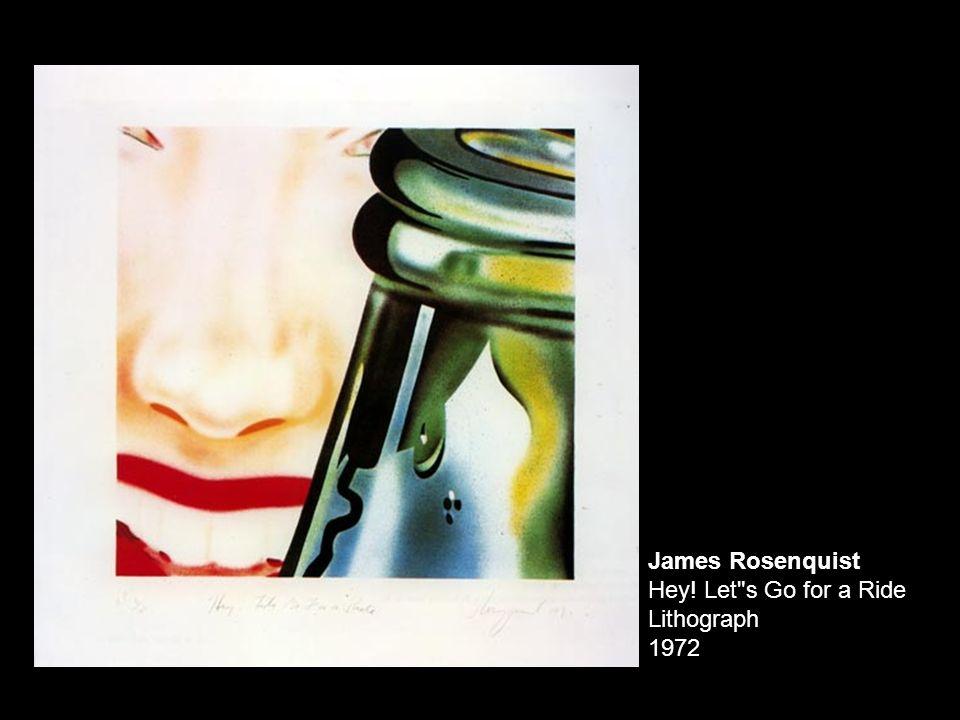 ROY LICHTENSTEIN (1923-1997) O beijo Emergimos lentamente