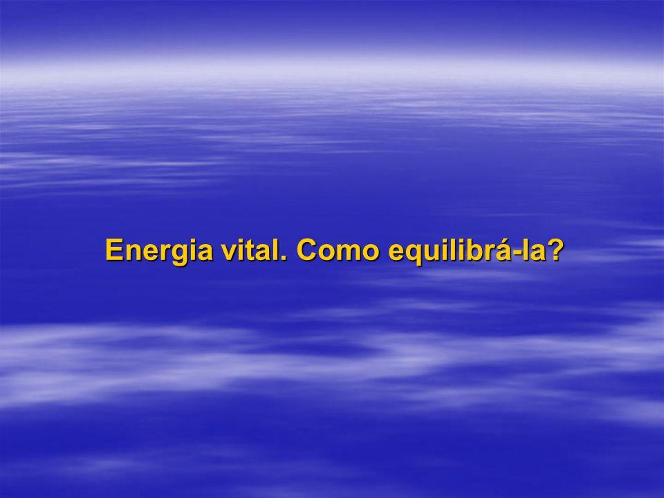 De um ponto de vista energético, o corpo físico debilitado oscila numa freqüência diferente daquela quando em estado saudável.