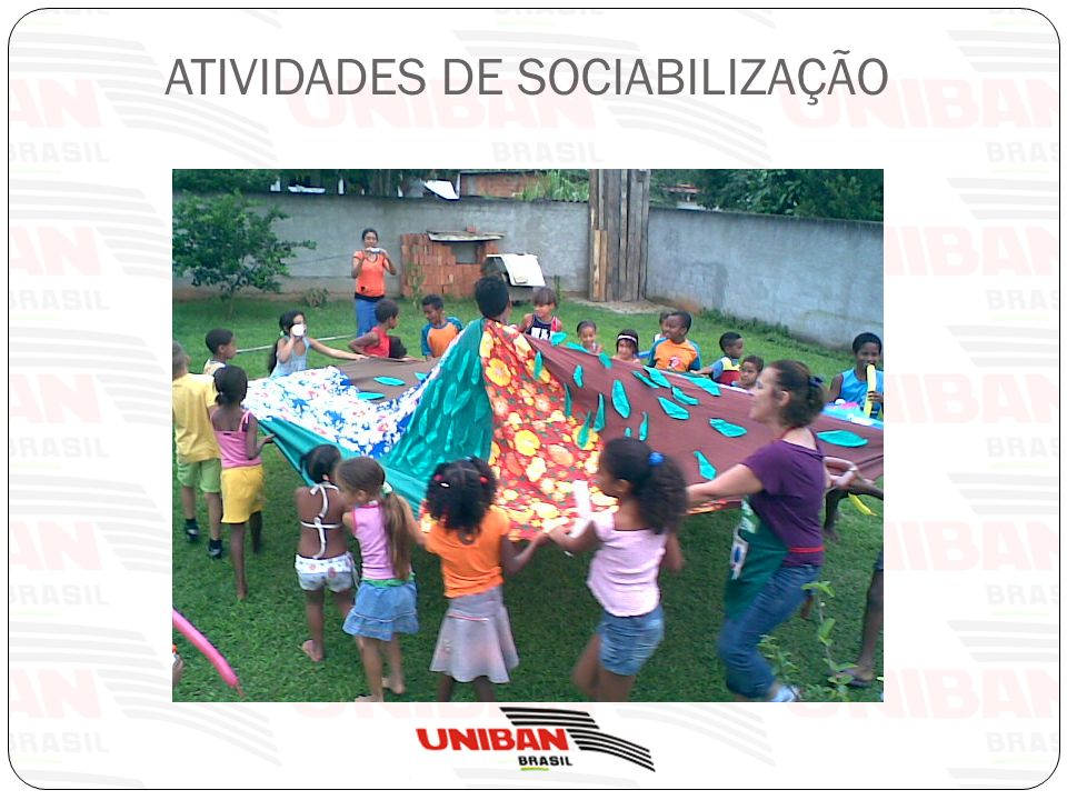 PASSO A PASSO DA SOCIABILIZAÇÃO Promover atividades lúdicas que facilitem a proximidade das pessoas do mesmo grupo Como.