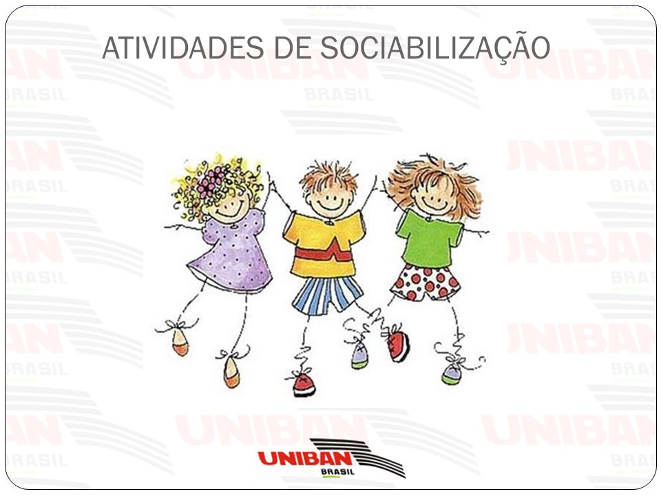 ATIVIDADES DE SOCIABILIZAÇÃO