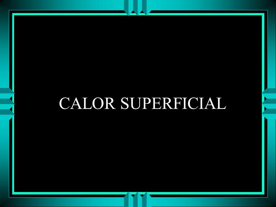 CALOR SUPERFICIAL