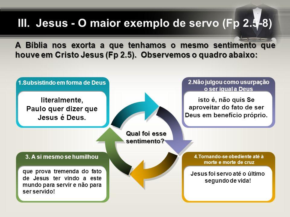 Degraus do Servo (Fp 2.6-11) ? ? 1. Sendo Deus 8. Senhor dos senhores2. Esvaziou-se 7. Glorificado3. Humilhou-se 6. Exaltado 4. Obediente Temos andado
