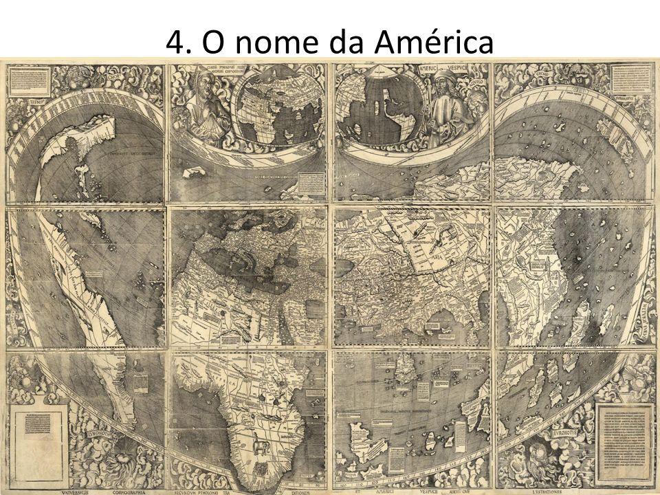 4. O nome da América