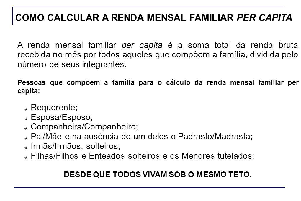 Em caso de MUDANÇA DE DOMICÍLIO, o beneficiário deverá informar seu novo endereço à agência da previdência social mais próxima.