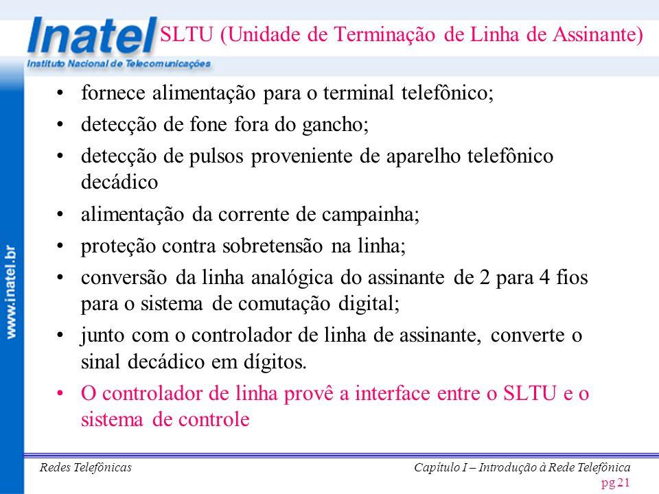 Redes TelefônicasCapítulo I – Introdução à Rede Telefônica pg 22 CICLO DE VIDA DE UMA CHAMADA LOCAL CENTRAL Assinante A Assinante B SINAL INDICANDO FONE FORA DO GANCHO IDENTIFICANDO O ASSINANTE A MEMÓRIA ALOCADA PARA DÍGITOS E CONEXÃO DE ÓRGÃO COMUNS TOM DE DISCAR DÍGITOS DO ASSINANTE B ANÁLISE DE DÍGITOS E BUSCA DE CIRCUITOS DE SAÍDA EFETUA A COMUTAÇÃO TOM DE CHAMADACORRENTE DE CAMPAINHA SINAL DE ATENDIMENTO DESCONECTA O TOM E A CORRENTE DE CAMPAINHA CONVERSAÇÃO SUPERVISÃO DA CHAMADA SINAL P/ FRENTE INDICANDO FONE NO GANCHO SINAL P/ TRÁS INDICANDO FONE NO GANCHO DESCONEXÃO DOS EQUIPAMENTOS