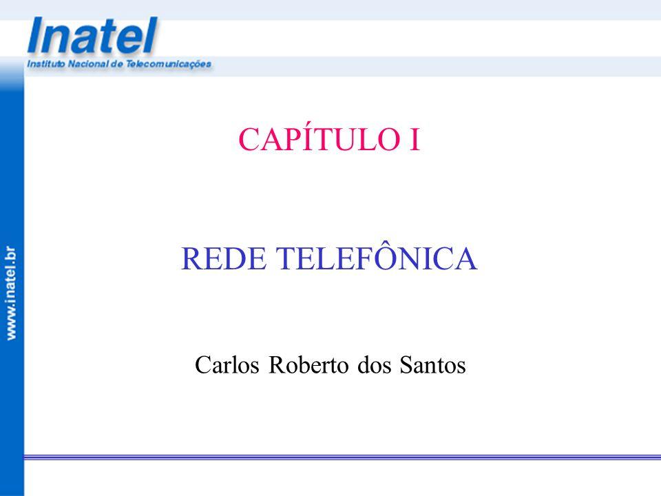 Redes TelefônicasCapítulo I – Introdução à Rede Telefônica pg 4 REDE TELEFÔNICA - INTRODUÇÃO Estrutura de comunicação mais complexa e de maior capilaridade Evolução a partir do serviço telefônico básico para um portifólio de serviços denso e variado como: –Transmissão de dados; –Telefonia; –Telex; –Comunicações Móveis; –Acesso à Internet; –Transmissão de vídeo