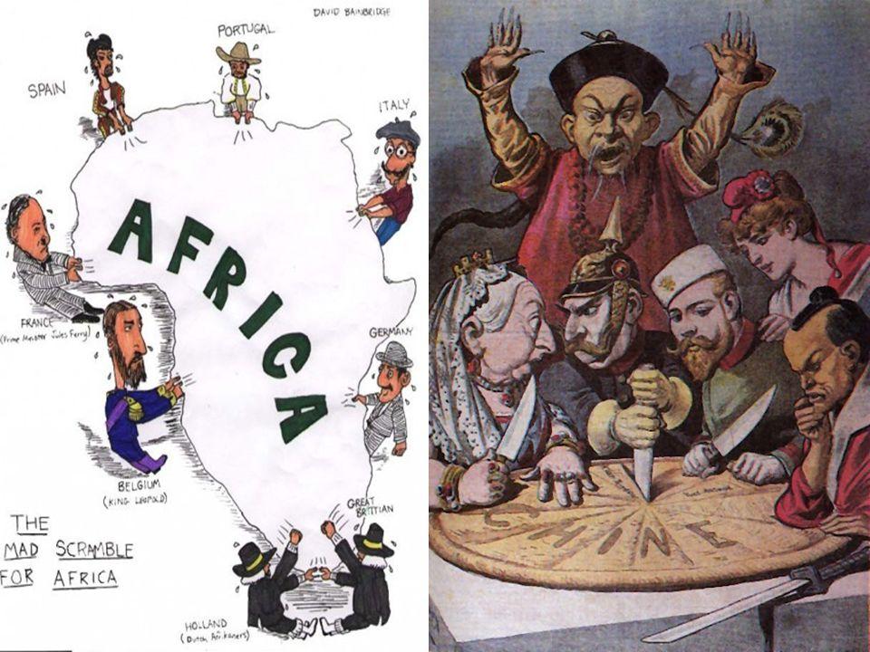 POTENCIAS IMPERIALISTAS Europa Estados Unidos Japão América Latina Dominação econômica Ásia Dominação econômica política (colonial) África Dominação p