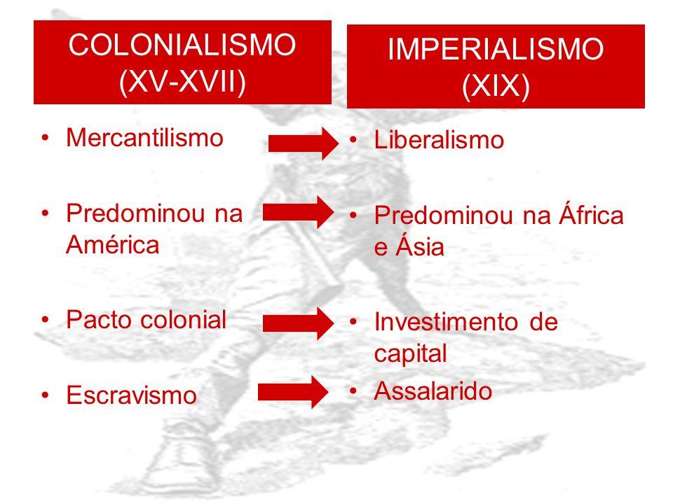 IMPERIALISMO É a prática de dominação econômica ou política iniciada a partir do desenvolvimento do capitalismo industrial, ao longo do século XIX. Em